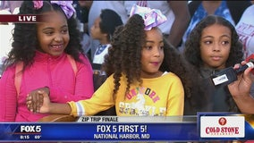 National Harbor   Zip Trip: Six Flags America FOX 5 First 5 of the Day