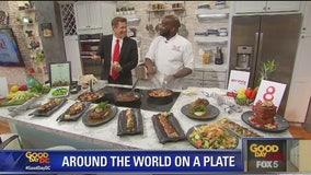 """""""Around the world on a plate"""" with Executive Chef Ed Evans"""