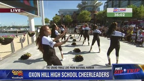National Harbor | Zip Trip: Oxon Hill High School Cheerleaders