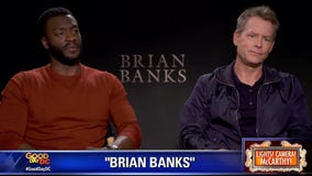 Aldis Hodge, Greg Kinnear in 'Brian Banks'