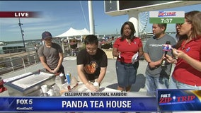 National Harbor | Zip Trip: Panda Tea House