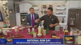 Celebrating National Rum Day early with Cuba Libre Restaurant and Rum Bar