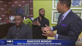 'Wade the Barber's' hair replacement for men
