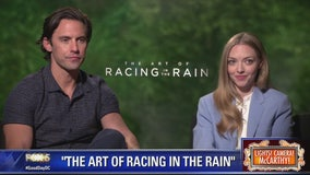 Milo Ventimiglia, Amanda Seyfried in 'The Art of Racing In The Rain'