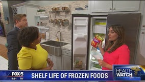 What's the shelf life of frozen foods?