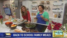Cooking with Como: Back to School Family Meals