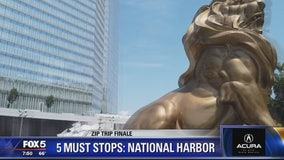 FOX 5 Zip Trip to National Harbor! 5 Must Stops!