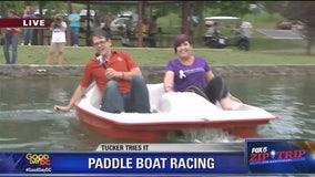 Hagerstown | Zip Trip: Tucker Tries It Paddle Boat Race!