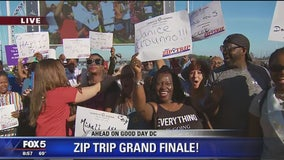 National Harbor | Zip Trip: Fun With Fans!