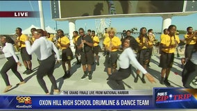 National Harbor | Oxon Hill High Drumline and Dance Team