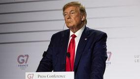 Trump cancels Poland trip as Hurricane Dorian barrels toward Florida