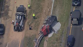 I-270 at Frederick, Montgomery county line re-opened after dump-truck crash