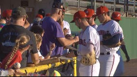 Potomac Nationals play last home game in Prince William County before move to Fredericksburg next season
