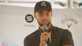 NBA champion Stephen Curry helps launch golf program at Howard University
