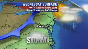 Hazy, hot and humid Wednesday with afternoon and evening thunderstorms likely