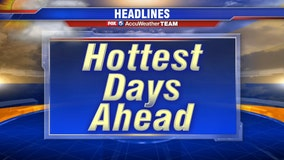 Triple-digit heat returns Monday