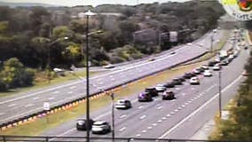 Interstate 270 closed both ways after motorcycle crash