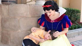 Snow White shares heartwarming moment with special needs child at Disney World