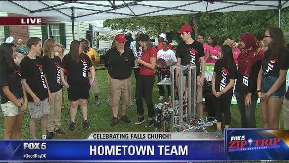 Falls Church | Zip Trip: George Mason High Robotics Team