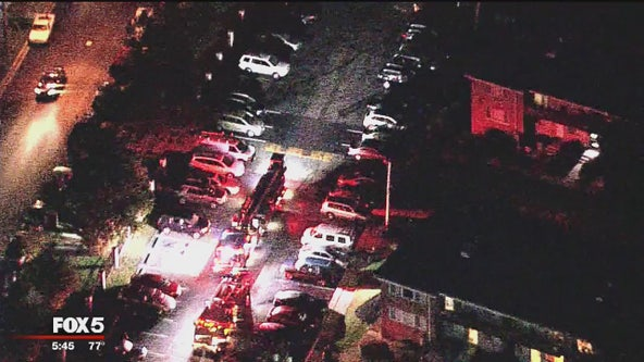 Early morning apartment fire forces some residents from their homes in Prince George's County