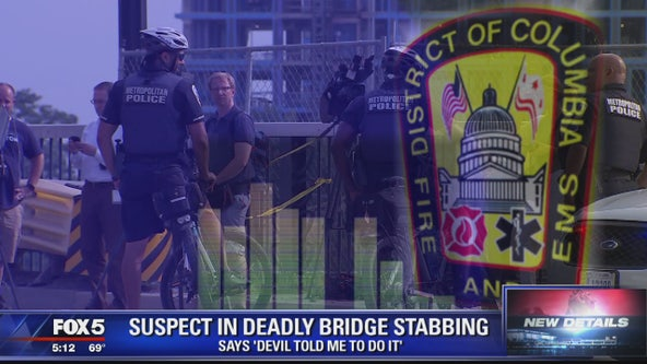 New details on deadly Frederick Douglass Memorial Bridge stabbing