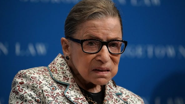 Justice Ginsburg treated for tumor on pancreas