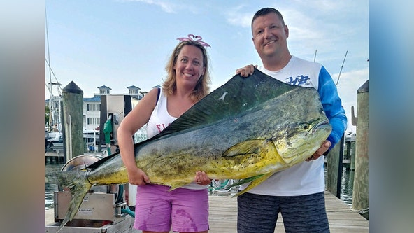 Anne Arundel County woman catches record-setting mahi mahi off Ocean City