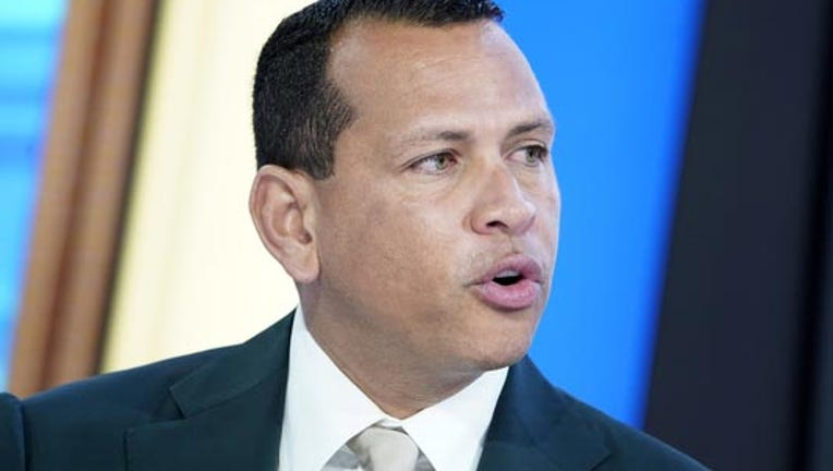 NEW YORK, NEW YORK - AUGUST 08: Former shortstop and third baseman for the New York Yankees Alex Rodriguez