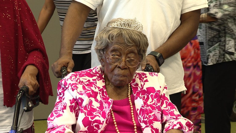 Hester Ford just turned 115 years old.