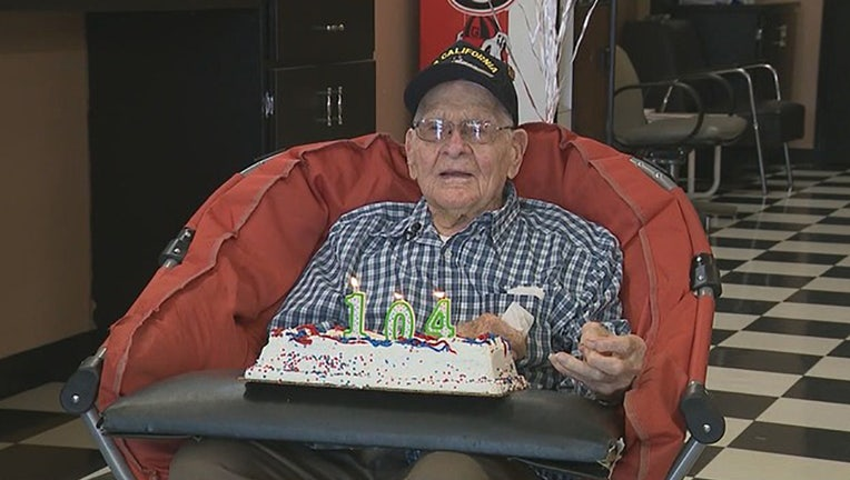 Georgia WWII veteran celebrates 104th birthday | FOX 5 DC