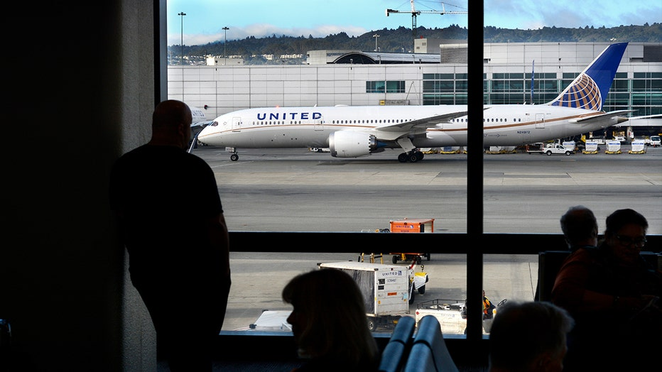 FILE: A United Airlines Boeing 787 Dreamliner airplane taxis at San Francisco International Airport in San Francisco, California.