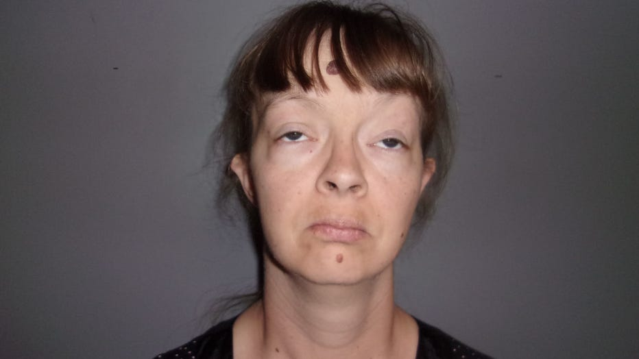 Mary Elizabeth Moore, 34, is pictured in an undated booking photo. (Photo credit: Provided / Delaware County Sheriff's Office)