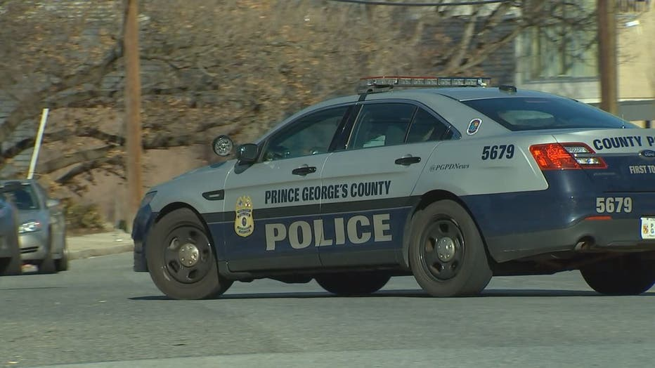 Prince George's County Police Cruiser