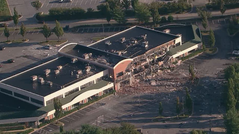 gas explosion columbia maryland