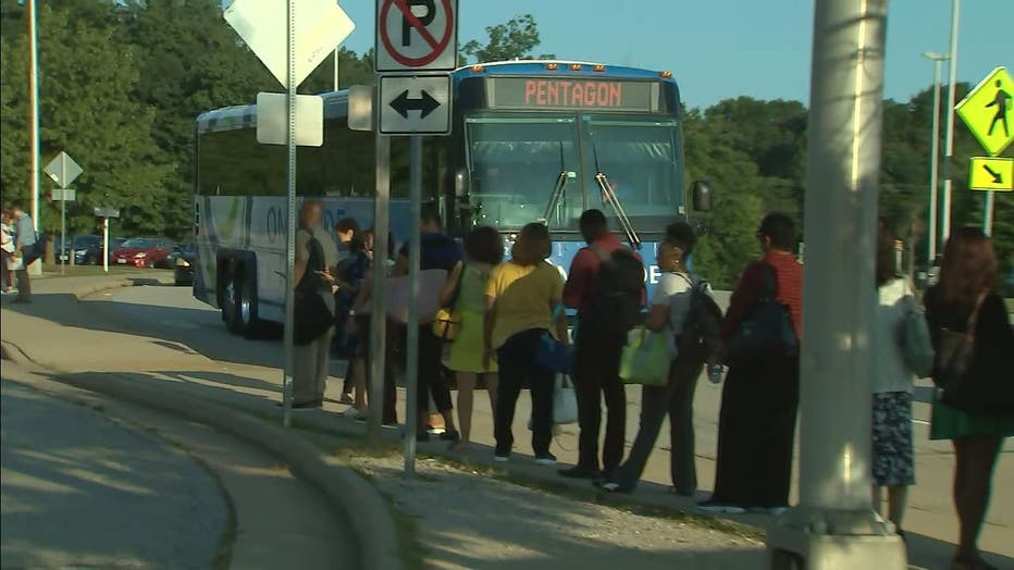 Dc Area Commuters Impacted Due To Omniride Bus Driver Work