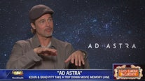 Brad Pitt, Tommy Lee Jones in 'Ad Astra'