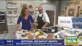 Cooking with Como: National Breakfast Month with Silver Diner
