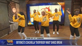 National Dance Day preview with Models Inc.