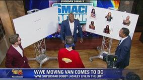 WWE star Bobby Lashley talks wresting knowledge with the FOX 5 gang!