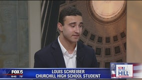Louis Schreiber and Dr. Travis Gayles on Fox 5 News On The Hill