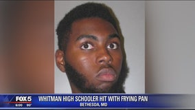 Police ID 19-year-old student accused of attacking another student with a frying pan at Montgomery Co school