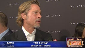 Brad Pitt hits the red carpet at the DC screening of 'Ad Astra'
