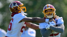 Guice, Peterson give Redskins a 1-2 punch in backfield