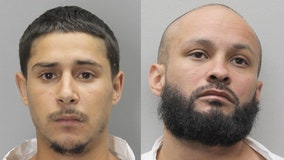 Two men arrested in armed robbery that led to Herndon shooting involving officer, police say