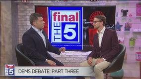 The Final 5: Breaking down the Democratic Presidential Debate