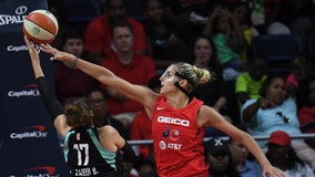 Mystics star Elena Delle Donne has herniated disk in back