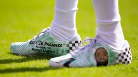 DeSean Jackson will wear Nipsey Hussle-styled cleats every game, auction for late artist's children