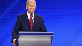 Biden criticized after snarking to female moderator: 'Sexism with a smile'