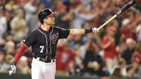 Turner's slam helps Nationals sweep Phillies, clinch wild card
