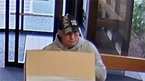 Man steals ATM by hiding it under cardboard box and wheeling it out of hospital, police say